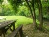 tavolo picnic a bordo fiume